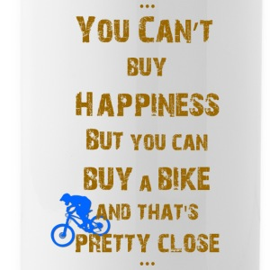 Happiness for bikers - Water Bottle