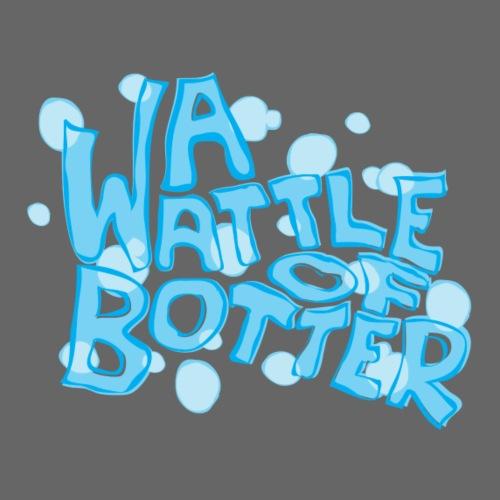 A Wattle Of Botter - Drinkfles met geïntegreerd rietje