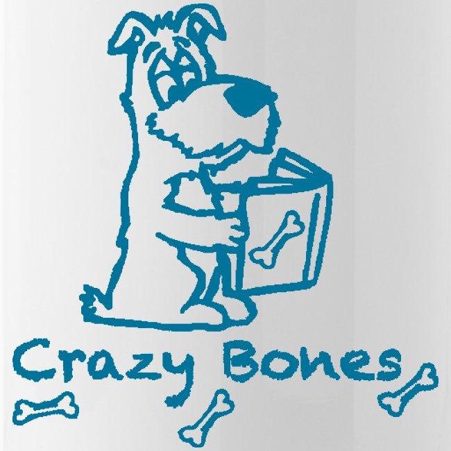 crazy bones shirtschwarz