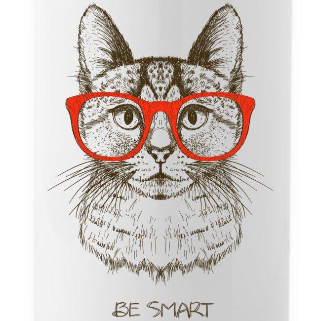 Vorschau: Cat Hipster - Trinkflasche