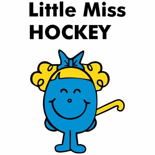 Little Miss Hockey - Gourde avec paille intégrée
