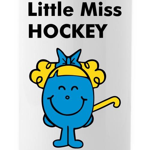 Little Miss Hockey - Water bottle with straw