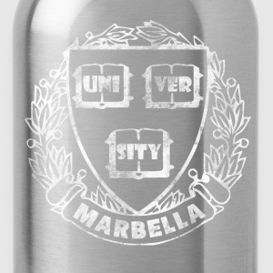 Vintage Marbella University - Water Bottle