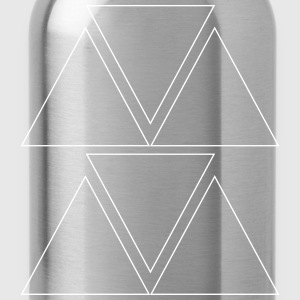 Triangular pattern - Water Bottle