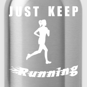 JUST KEEP RUNNING - Trinkflasche