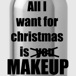 Christmas song award makeup makeup - Water Bottle