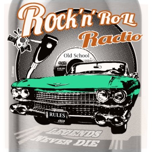 rockandroll radio 03 color - Cantimplora
