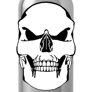 vector Skull - Drinkfles