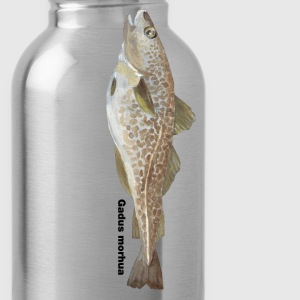Cod - Gadus morhua - Water Bottle