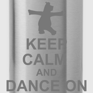 Keep Calm Hippo - Water Bottle
