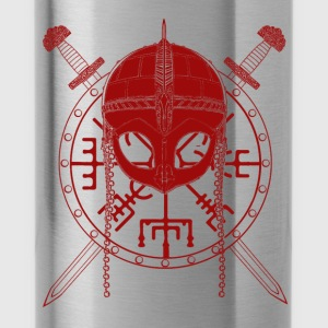 Viking Design (Red) - Water Bottle