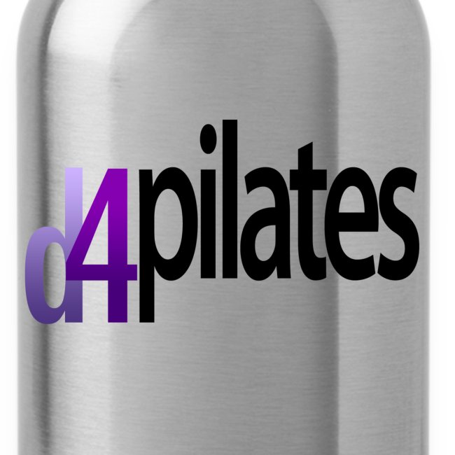 D4 Pilates - Black logo