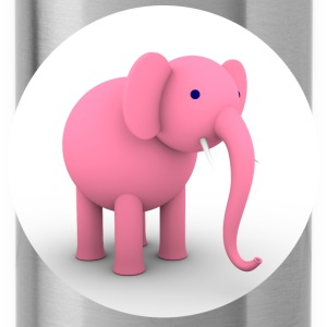 Pink Elephant - Drinkfles