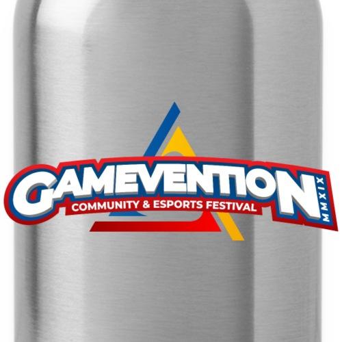 Logo GAMEVENTION MMXIX - Trinkflasche