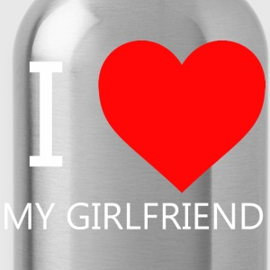 I LOVE MY GIRLFRIEND T-SHIRT - Water Bottle