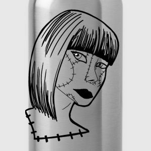 sewn woman - Water Bottle