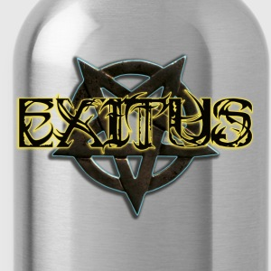 Exitus lettering - Water Bottle
