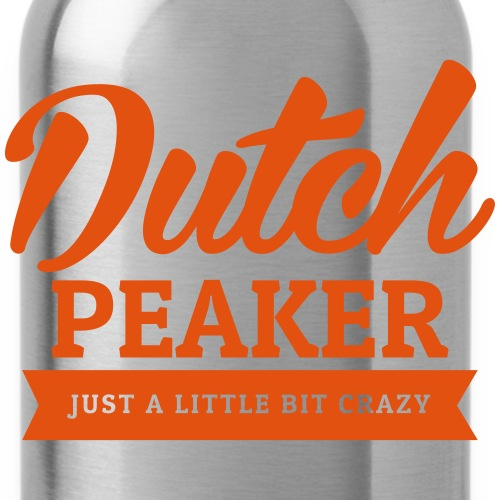 dutch peaker logo oranje - Drinkfles