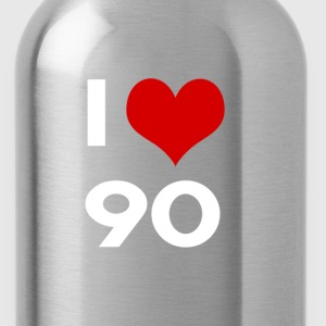 I love 90 - Borraccia