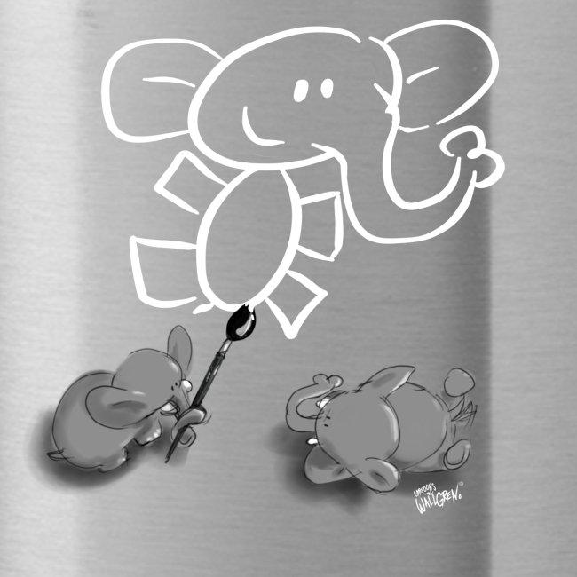 When elephants paint elephants.