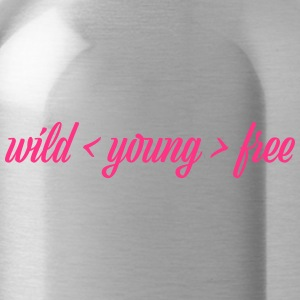 wild young free - Water Bottle