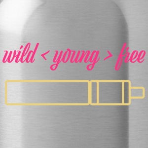 wild young free with TubeMod - Water Bottle