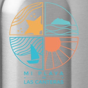 My beach of Las Canteras - Water Bottle