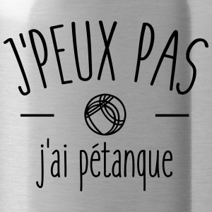 I can not I petanque - Water Bottle