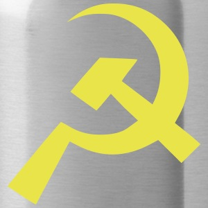 Communist Hammer Sickle Flag - Water Bottle