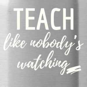 teach_watching - Water Bottle
