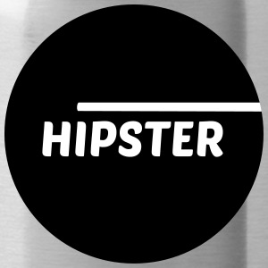 Hipster circle - Water Bottle