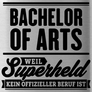 Superheld Bachelor of Arts - Trinkflasche
