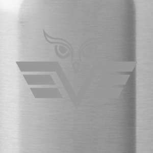 gray owl - Water Bottle