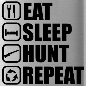 Eat sleep hunt - Hunter - Hunting - Water Bottle