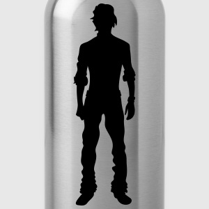 Man body Silhouette vector design - Water Bottle