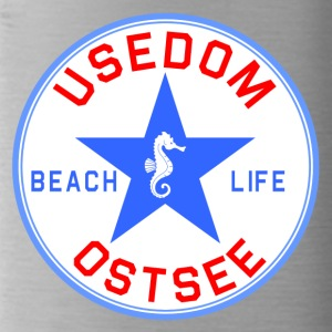 Usedom_Seepferd - Water Bottle