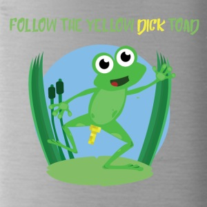 Follow the yellow dick toad - Water Bottle