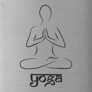 Yoga and meditation - Water Bottle