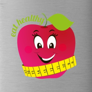 Eat healthy - Trinkflasche
