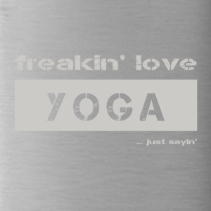 love YOGA - bright T-shirt - Water Bottle