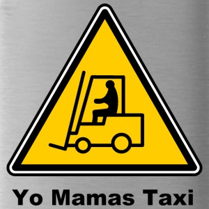 Mamas Isle Taxi by Isles of Shirts - Trinkflasche