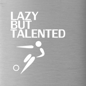 Lazy But Talented - Water Bottle