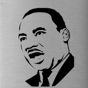 martin luther king stencil - Drinkfles