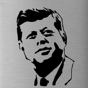 kennedy stencil - Water Bottle