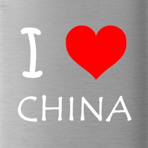 I Love CHINA - Water Bottle