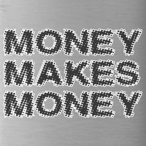 money makes money - Water Bottle
