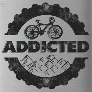 Bicycle Mountain Biking Addicted - Water Bottle