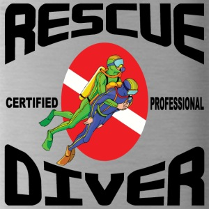 SCUBA Rescue Diver - Water Bottle