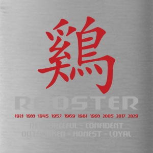 Chinese Year of The Rooster Years Characteristics - Water Bottle