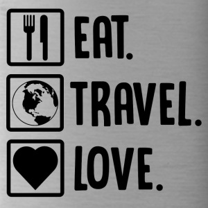++Eat, Travel, Love++ - Trinkflasche